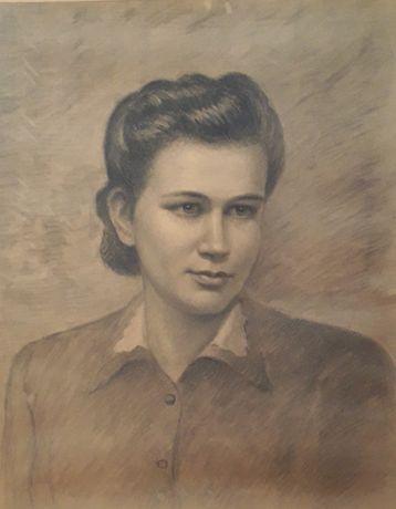 Portret z dwudziestolecia międzywojennego.