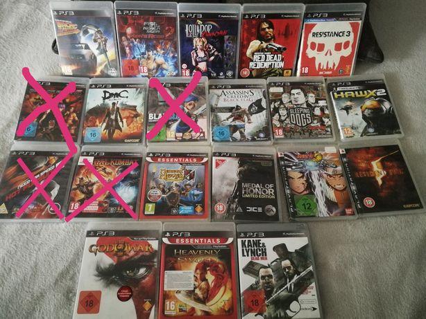 Sprzedam 20 gier na ps3 playstation różne tytuły