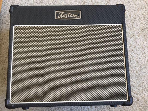 Amplificador guitarra Kustom 20w com Spring Reverb Verdadeiro