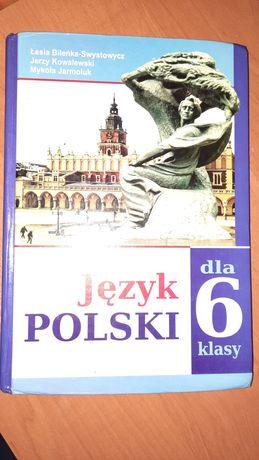 Книжки 6 клас польська, світова, географія,