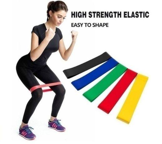 Набор фитнес-резинок EXERCISE RESISTANCE BELT 5 шт.