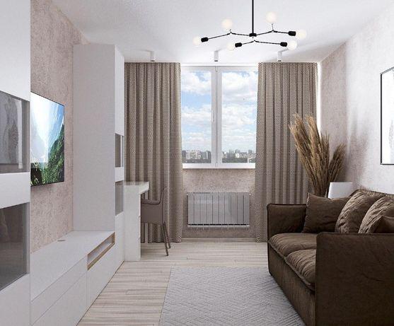 Однокомнатная квартира - студия с первым взносом 10595 уе.
