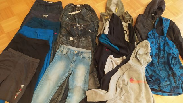 Zestaw ubrań dla cłopca 134/140 20 szt