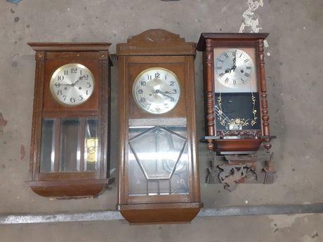 16 sztuk kolekcja starych zegarów pakiet komplet nakrecane
