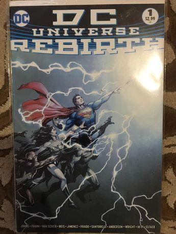 Комікси від DC і Marvel (синґли)