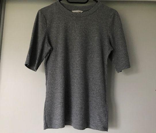 Prążkowana bluzka H&M