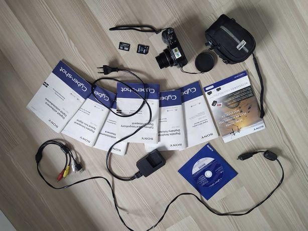 Zestaw aparat SONY Cybershot z optyką Carl Zeiss! + akcesoria