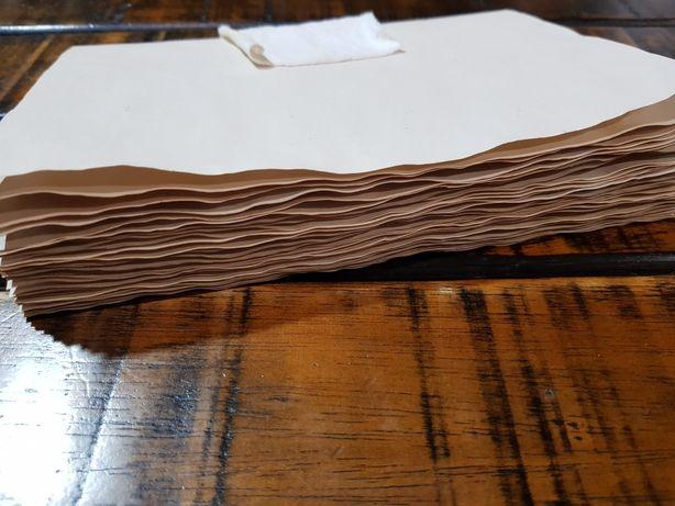 Книжный блок, блокнот из состаренной бумаги