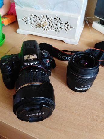 Фотоаппарат Sony slt A37K+объектив Tamron