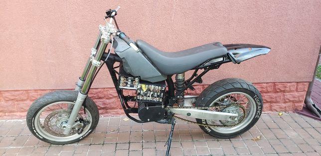 Электромотоцикл 5000w HUSQVARNA TE 610 мотор колесо электровелосипед