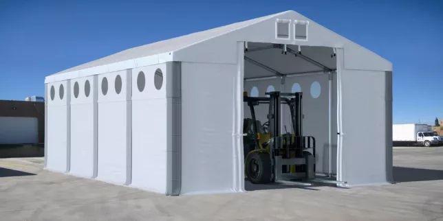 Namiot magazynowy WINTER 4x8m 3m HALA namiotowa całoroczna MTB 48h