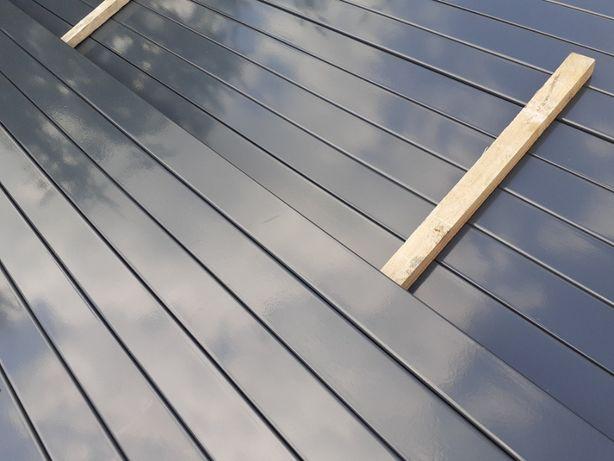 Słupki 60x40 TRANSPORT 2,4 m slupek do paneli ogrodzeniowych zielony