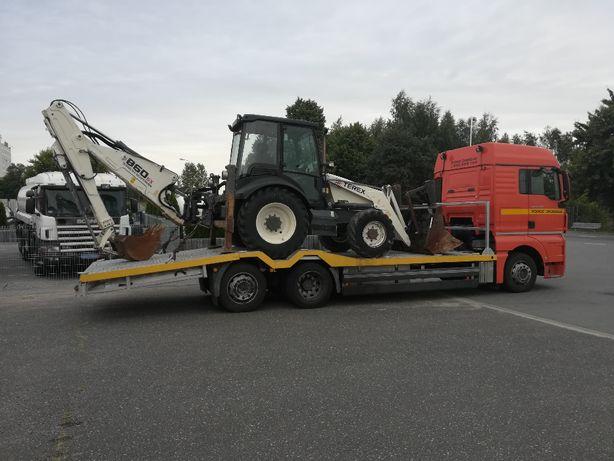 TRANSPORT, przewóz ciągników i maszyn Częstochowa Laweta 16 ton