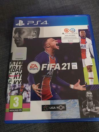 Jogo FIFA 21 PS4