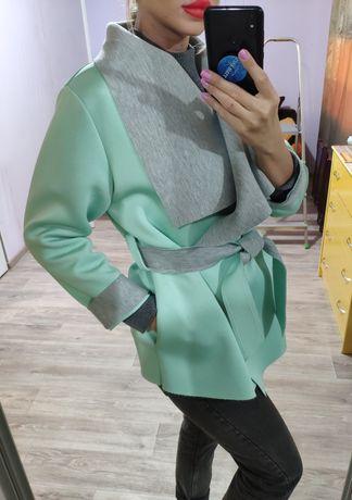 Пальто S M L кардиган пиджак жакет кофта плащ тренч джемпер свитшот