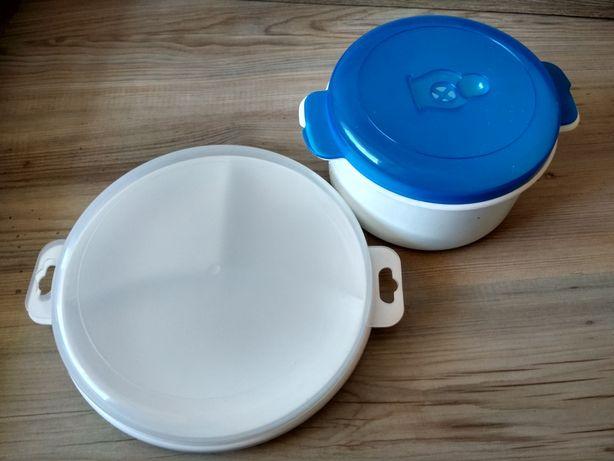 3 pojemniki do podgrzewania posiłków w mikrofali