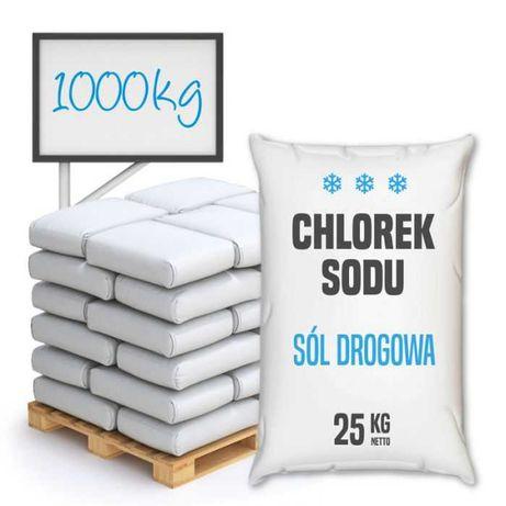 Sól drogowa - chlorek sodu – 1000 kg - Wysyłka kurierem