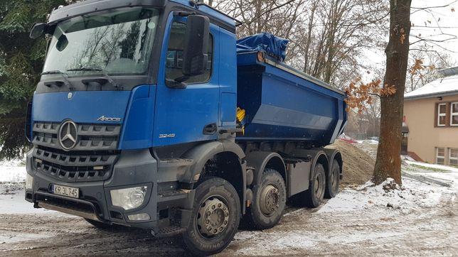 Usługi Transportowe Transport Wywrotka Transport Ziemi Piasku