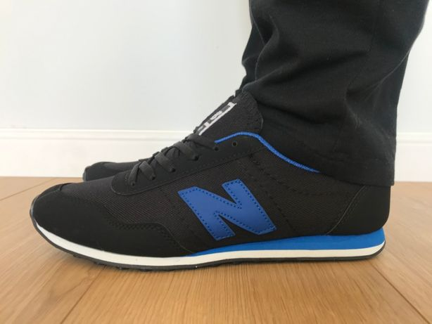 New Balance 410. Rozmiar 43. Czarne - Niebieskie. NOWOŚĆ!