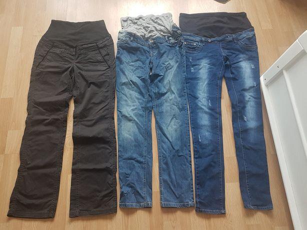 Ubrania sukienka odzież ciążowa spodnie jeansy ciążowe M S