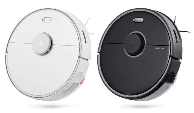 Робот-пылесос с влажной уборкой Xiaomi RoboRock S5 MAX Black White