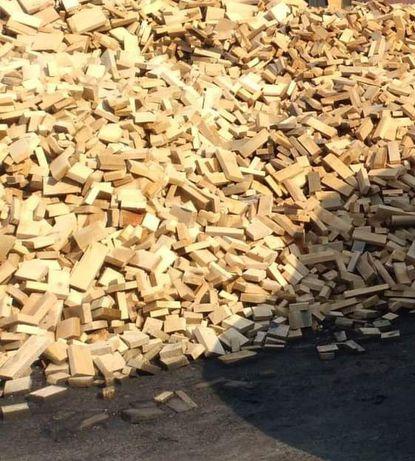 Klepka zrzyny bukowe drewno opałowe