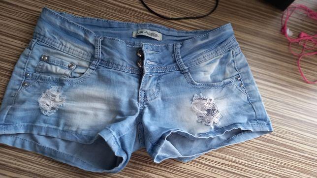 Продам джинсовые шорты 26р