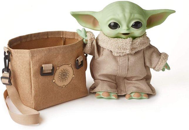 Интерактивный малыш Йода  Грогу 28см Star Wars Mandalorian Уценка
