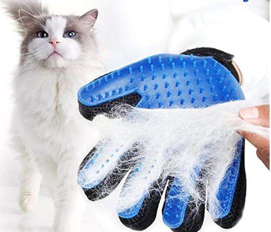 Luva para animais de estimação | Escova para animais | Luva Pet p/pêlo
