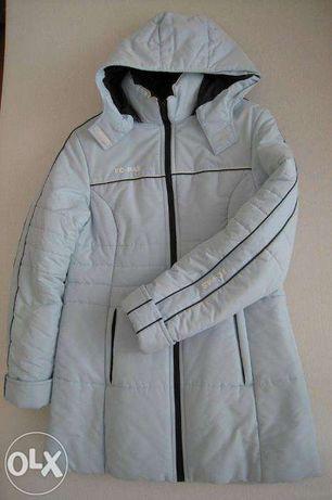 Błękitna kurtka zimowa stan idealny
