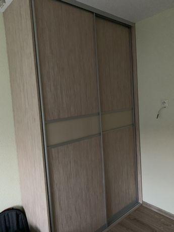 Szafa do zabudowy + łóżko 160 X 200, materac, szafeczki nocne
