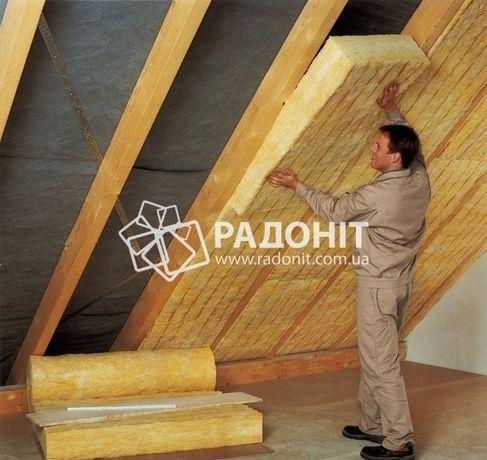 ТОП Продаж! Мінеральна вата (мінвата) для даху і фасаду