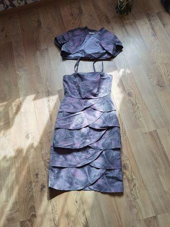 Elegancka Sukienka z bolerkiem