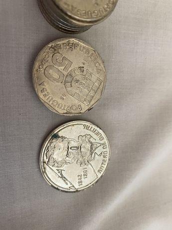 Colecao moedas portuguesas 50