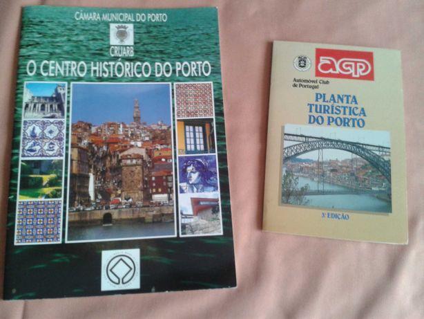 PLANTA turistica do Porto +centro histórico