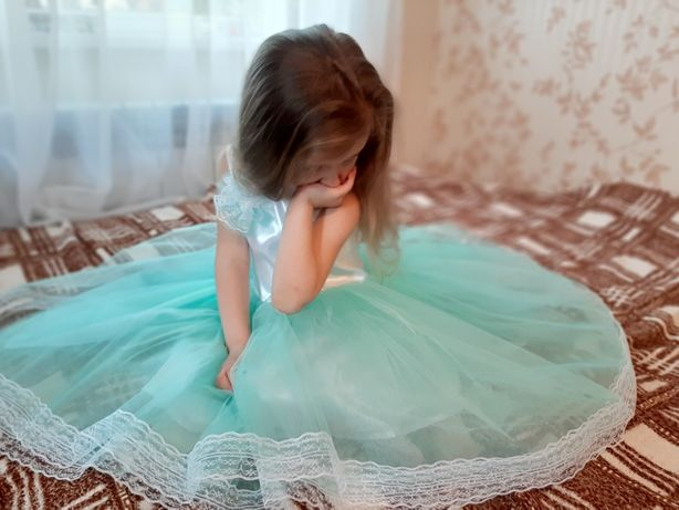 Плаття нарядне пишне випускне бальне платье детское