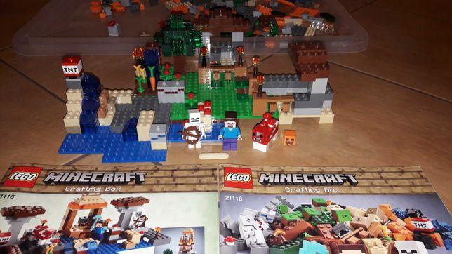 Lego minecraft 21116 instrukcje 8w1
