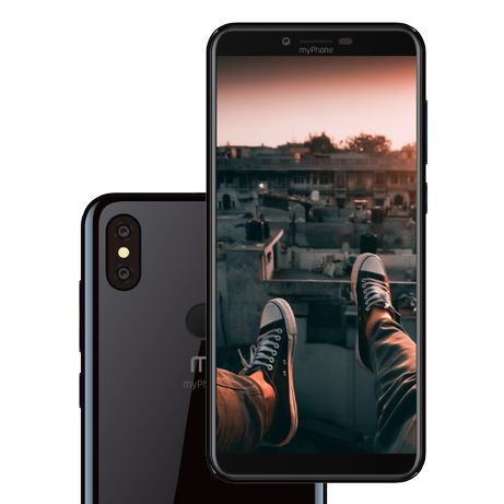 smartfon my phone city 2 , czarny , gwarancja !, lombard madej sc