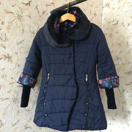 Продам пальто / куртку зимнюю для девочки на 9-12 лет