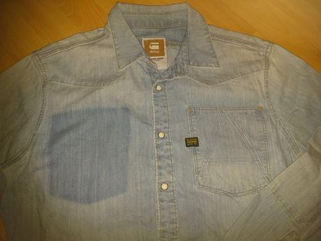 Koszula jeans młodzieżowa roz. L * G-Star Raw Denim