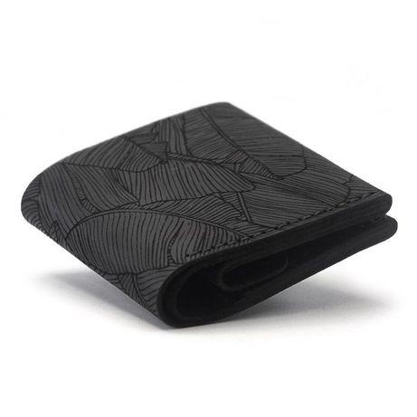 Стильный кожаный кошелёк - мужской портмоне, бумажник +Подарок браслет
