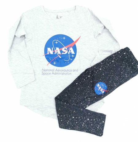 NASA Piżama długi rękaw Kosmos rozmiary