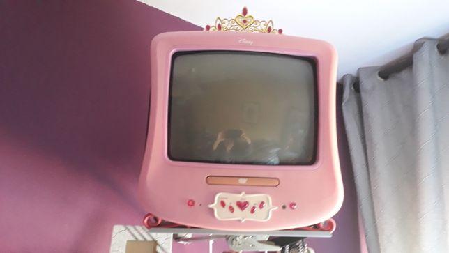 TV de princesa DVD integrado+ Suporte