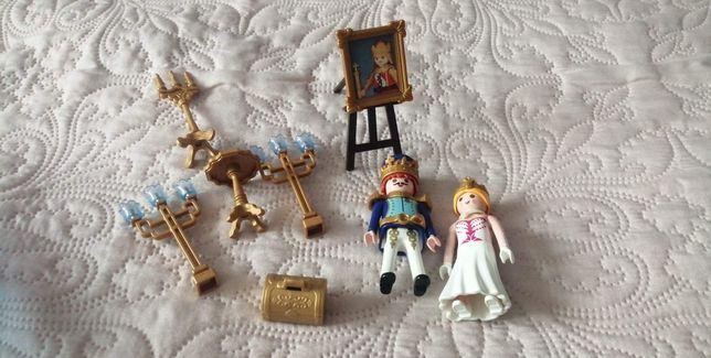Playmobil król i królowa