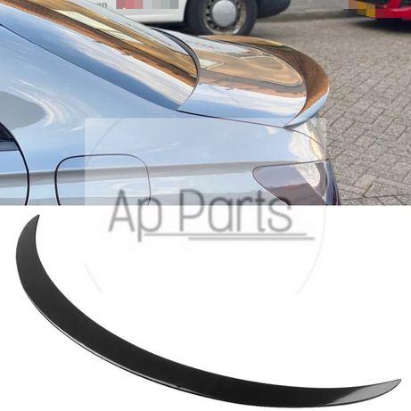 Mercedes cla w117 c117 a45 amg spoiler aleiron preto brilhante