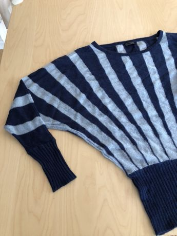 Nowy sweter granatowy nietoperz Only M