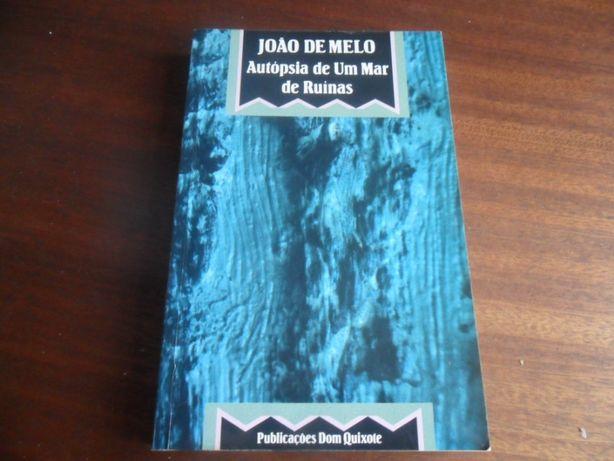 """""""Autópsia de um Mar de Ruínas"""" de João de Melo"""