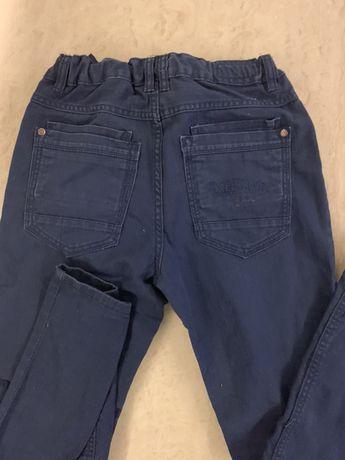 Spodnie jeansowe granatowe rozmiar 152