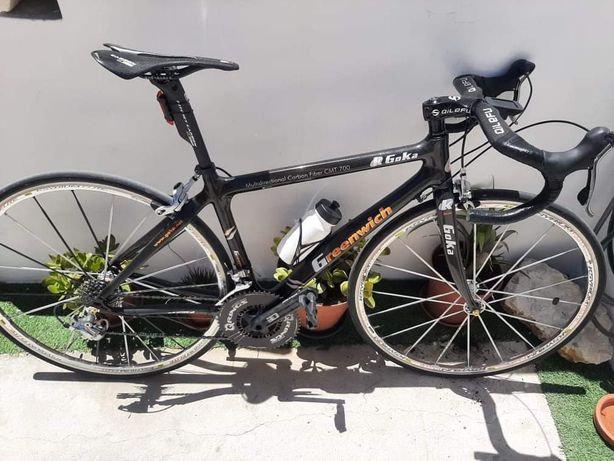 Bicicleta de estrada goka Greenwich em carbono