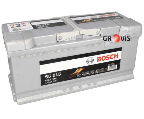 NOWY Akumulator BOSCH SILVER S5-015 12V 110Ah 920A P+ Dostawa Montaż